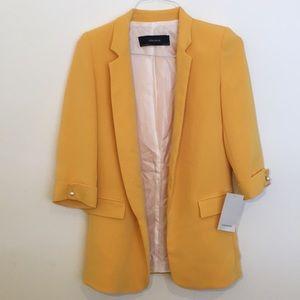 Zara Basic long blazer
